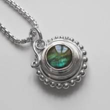 Labradorite Compass Necklace